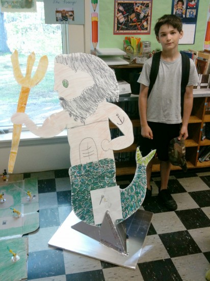 Poseidon -- Will's Beyond the Book project